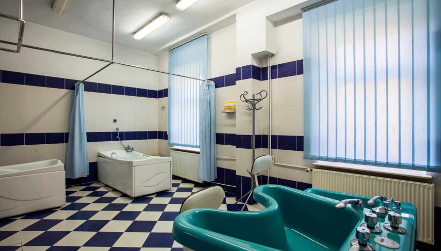 Sala do zabiegów rehabilitacyjnych