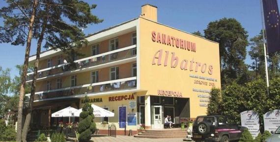 Sanatorium ALBATROS w Krynicy Morskiej