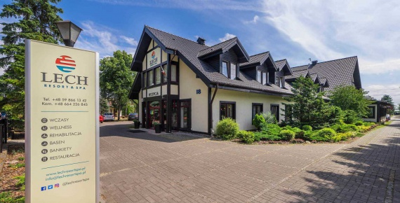 Kompleks LECH Resort&Spa w Łebie