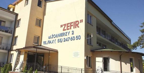 Sanatorium ZEFIR w Krynicy Morskiej